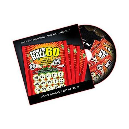 POWERBALL 60 (US Lotto) - Richard Sanders and Bill Abbott wwww.magiedirecte.com