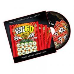Powerball 60 (DVD, Gimmick, UK Lotto) by Richard Sanders and Bill Abbott - DVD wwww.magiedirecte.com