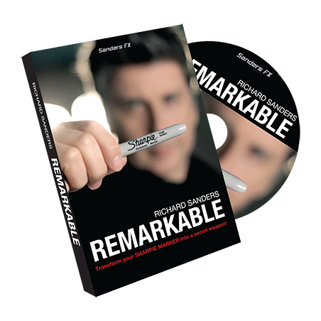 Remarkable (DVD and Gimmick) by Richard Sanders -DVD wwww.magiedirecte.com