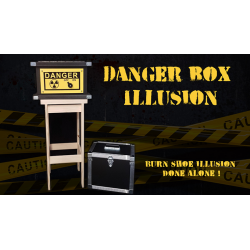 DANGER BOX ILLUSION (Full Set) - Magie Climax wwww.magiedirecte.com