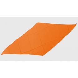 Diamond Cut Silk 18 inch (Orange) by Magic By Gosh - Trick wwww.magiedirecte.com