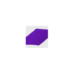 Diamond Cut Silk 18 inch (Purple) by Magic by Gosh-Trick wwww.magiedirecte.com
