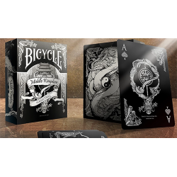 Bicycle Middle Kingdom (Black)  Playing Cards Printed by US Playing Card Co wwww.magiedirecte.com