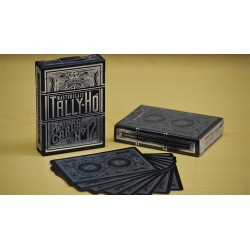 Tally-Ho Masterclass (Black) Playing Cards wwww.magiedirecte.com