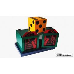 Split Die Box by Mr. Magic - Trick wwww.magiedirecte.com