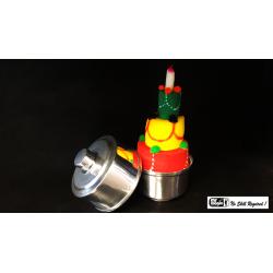 Mini Production Pan with Sponge Cake by Mr. Magic - Trick wwww.magiedirecte.com