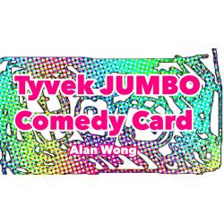 TYVEK COMEDY CARD JUMBO - Alan Wong wwww.magiedirecte.com