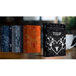 Black Tulip Playing Cards Dutch Card House Company wwww.magiedirecte.com