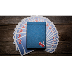 Cherry Casino House Deck Playing Cards (Tahoe Blue) by Pure Imagination Projects wwww.magiedirecte.com