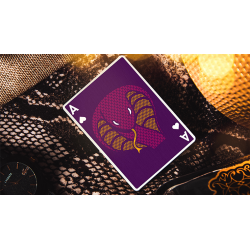 The Serpent (Purple) Playing Cards wwww.magiedirecte.com