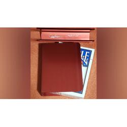 THE PORPER CARD CLIP (Rouge) FLAT-SPINE wwww.magiedirecte.com