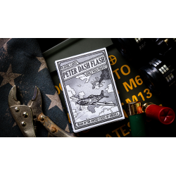 Peter Dash Flash - P51 Mustang Playing Cards by Kings Wild Project Inc. wwww.magiedirecte.com