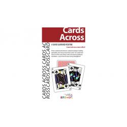CARDS ACROSS by David Garrard - Trick wwww.magiedirecte.com