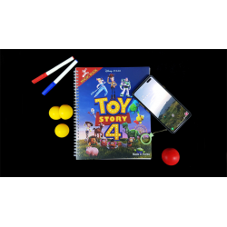 MAGIC COLORING BOOK (Toy Story 4) wwww.magiedirecte.com