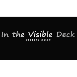 In the Visible Deck BLUE (Gimmicks and Online Instruction by Victory Hwan- Trick wwww.magiedirecte.com