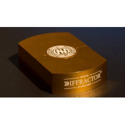 VEGAS DIFFRACTOR GOLD (Metal) wwww.magiedirecte.com