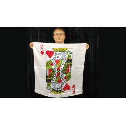 KING CARD SILK (90 cm) wwww.magiedirecte.com