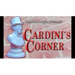 CARDINI'S CORNER by Quique Marduk and Juan Pablo Ibanez - Trick wwww.magiedirecte.com