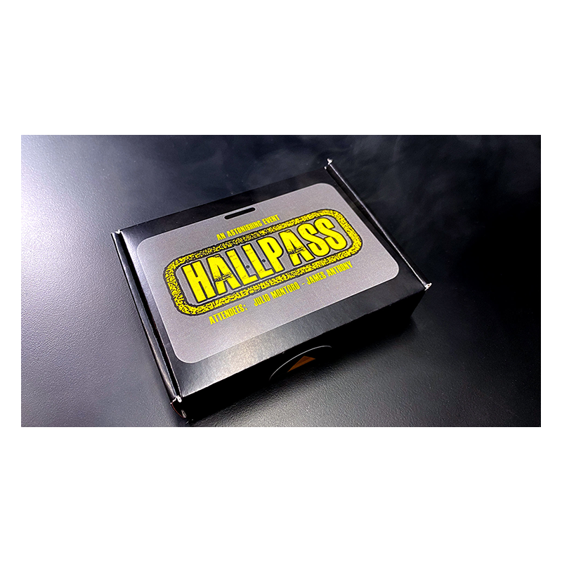 HALLPASS wwww.magiedirecte.com
