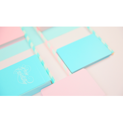 Pure Cardistry Double Back (Blue) Playing Cards wwww.magiedirecte.com