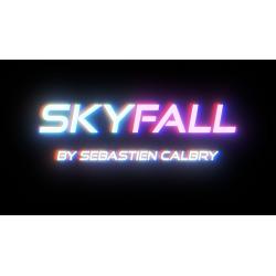 SKY FALL  BLUE  by Sebastien Calbry - Trick wwww.magiedirecte.com