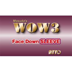 WOW 3 FACE-DOWN SLEEVE wwww.magiedirecte.com