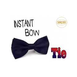 Instant Bow Tie (Blue) by Sorcier Magic - Trick wwww.magiedirecte.com