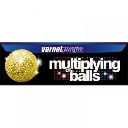 Multiplying Balls (GOLD) by Vernet - Trick wwww.magiedirecte.com