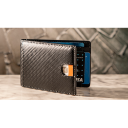 FPS Wallet Black (Gimmicks and Online Instructions) by Magic Firm - Trick wwww.magiedirecte.com