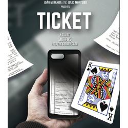 Ticket by Joao Miranda and Julio Montoro - Trick wwww.magiedirecte.com