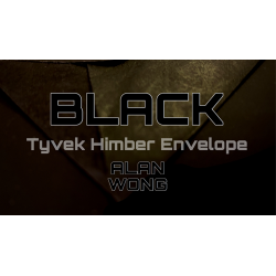 TYVEK HIMBER ENVELOPES BLACK (10 pièces.) wwww.magiedirecte.com