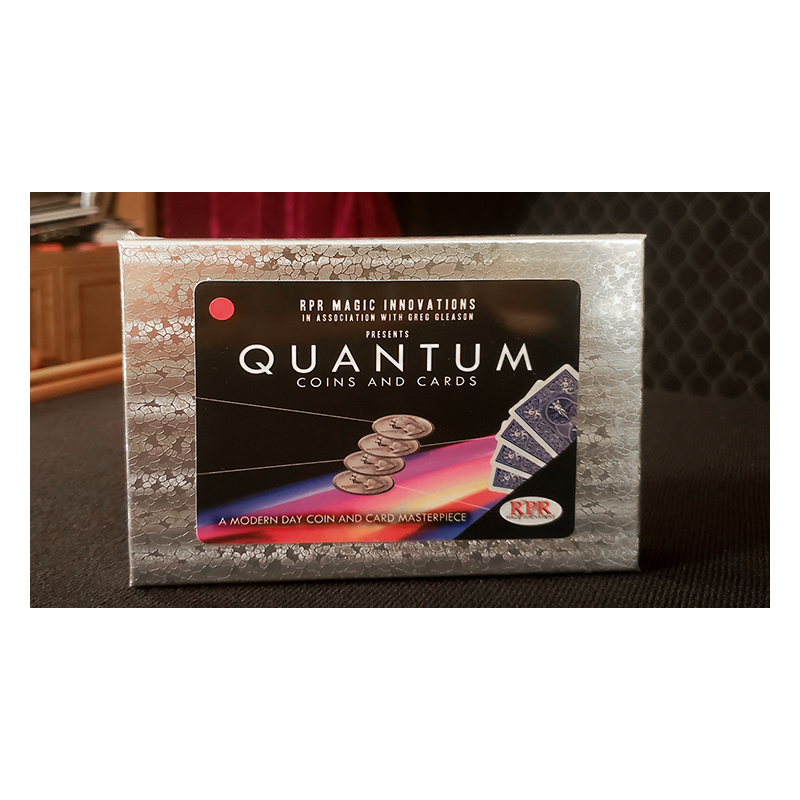 QUANTUM COINS (Euro 50 cent Red Card) wwww.magiedirecte.com
