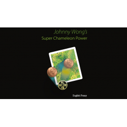 Super Chameleon Power English Penny Version by Johnny Wong - Trick wwww.magiedirecte.com