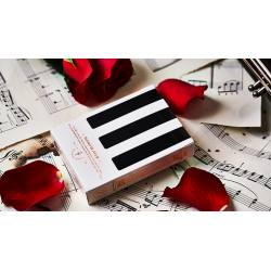 Piano Player Three-Key Edition Playing Cards by Bocopo wwww.magiedirecte.com