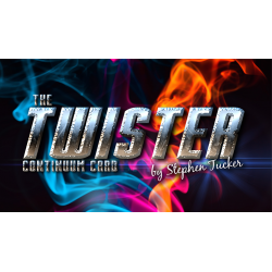 The Twister Continuum Card Blue (Gimmick and Online Instructions) by Stephen Tucker - Trick wwww.magiedirecte.com