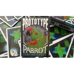 Parrot Prototype Playing Cards wwww.magiedirecte.com