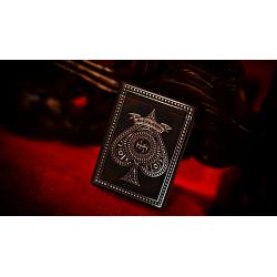 Black Platinum Lordz Playing Cards (Foil) wwww.magiedirecte.com