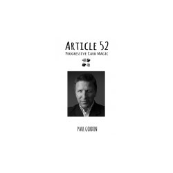 Article 52 by Paul Gordon - Book wwww.magiedirecte.com