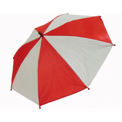 Flash Parasols (Red & White) 4 piece set by MH Production - Trick wwww.magiedirecte.com