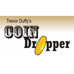 Trevor Duffy's Coin Dropper LEFT HANDED (Half Dollar) by Trevor Duffy wwww.magiedirecte.com