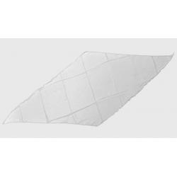 Diamond Cut Silk 24 inch (WHITE) by Magic by Gosh - Trick wwww.magiedirecte.com