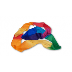 FOULARD MULTICOLOR SILK STREAMER (4 INCH-15 FEET) wwww.magiedirecte.com