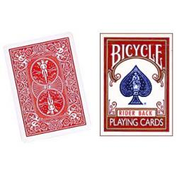 BICYCLE RIDER BACK- DOUBLE DOS ROUGE wwww.magiedirecte.com
