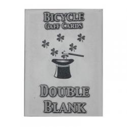 Bicycle Rider Back Double Blanc wwww.magiedirecte.com