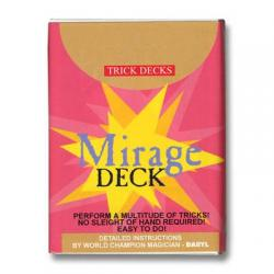 Mirage Deck Bicycle (Red) - Trick wwww.magiedirecte.com