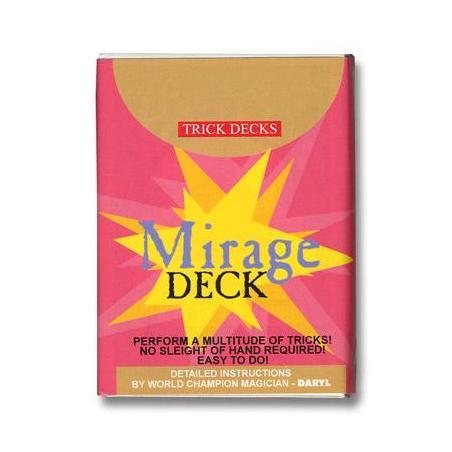 Mirage Deck Bicycle (Red) - Trick wwww.magiedirecte.com