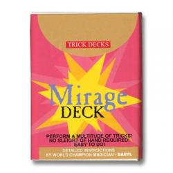 Mirage Deck Bicycle (Blue) - Trick wwww.magiedirecte.com