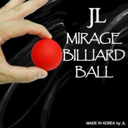 MIRAGE BILLIARD BALLS  (Rouge, 1ball) wwww.magiedirecte.com