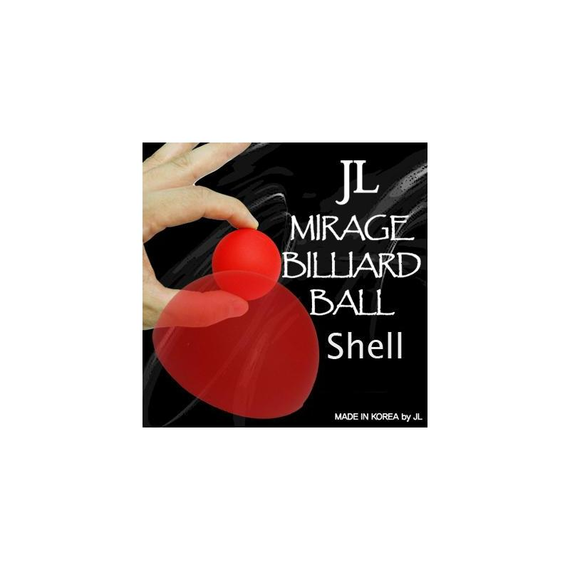 MIRAGE BILLIARD BALLS (Rouge, 1Coquille) wwww.magiedirecte.com