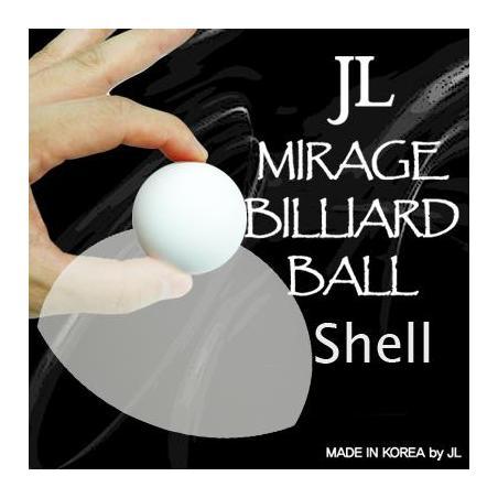 MIRAGE BILLIARD BALLS  (Blanc, 1 Coquille) wwww.magiedirecte.com
